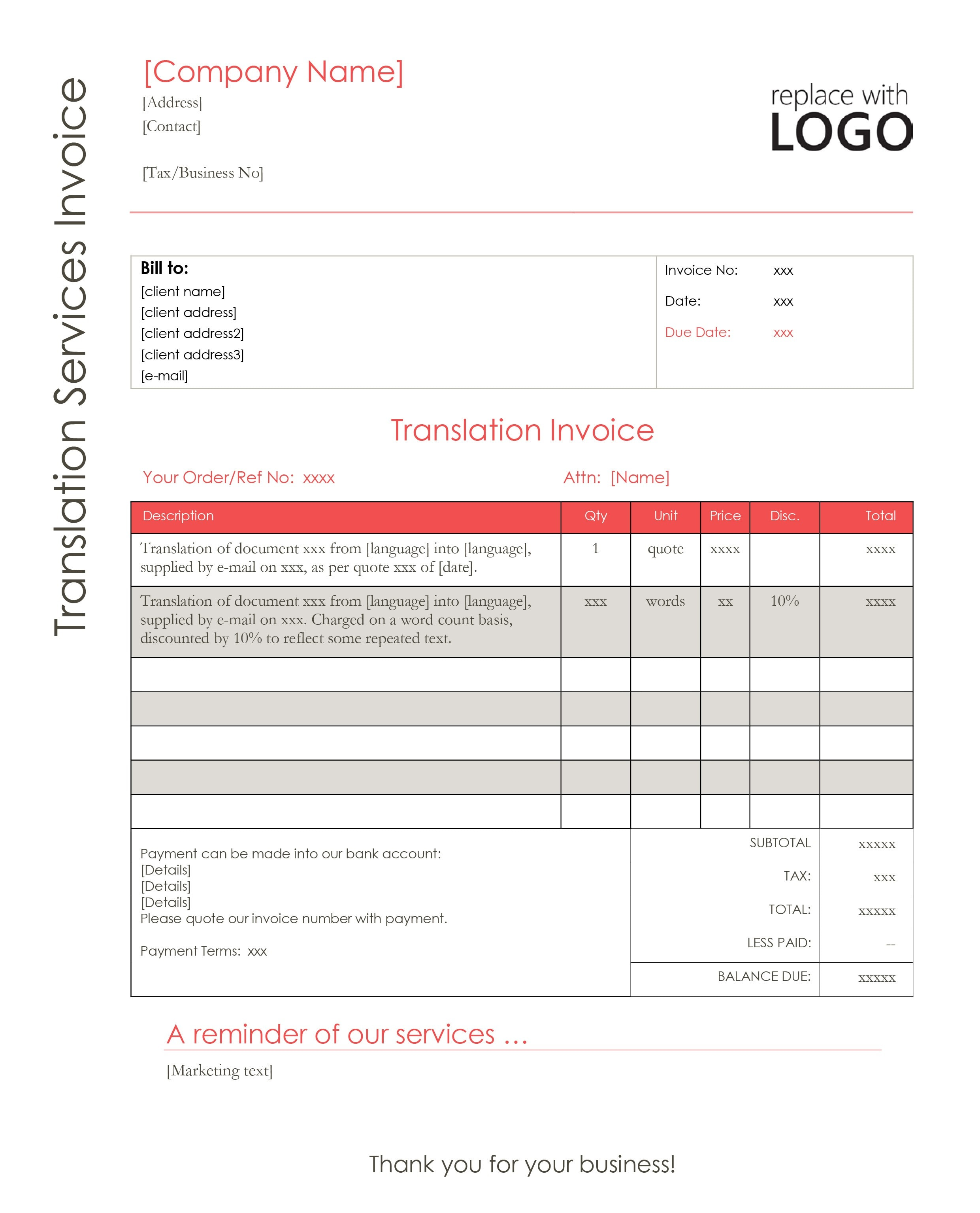 download translation quote template 3