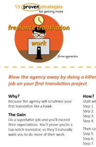 Getting translation jobs summary