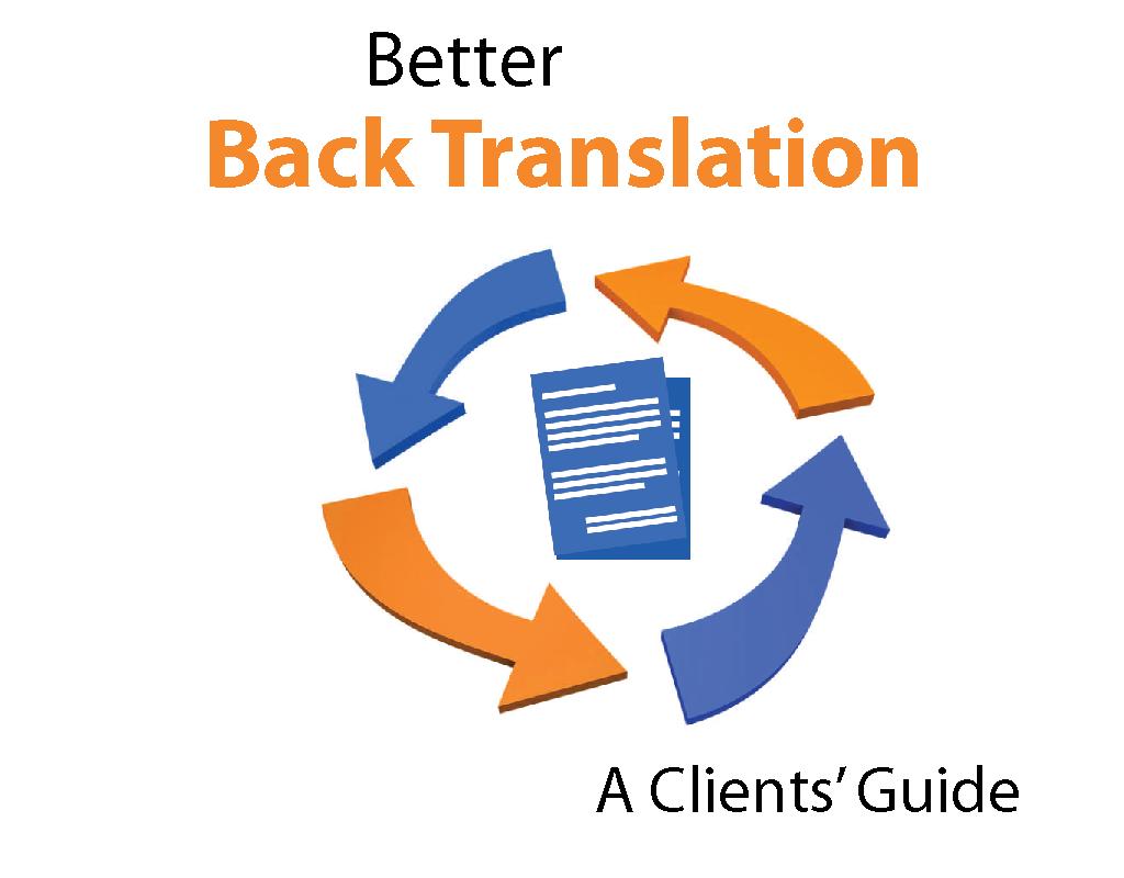 Back Translation guide