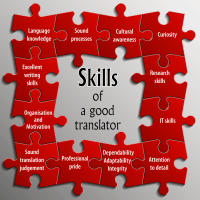 Translator skills summary